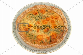 Asparagus Pie - top view