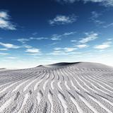 white dunes