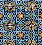 oriental pattern on tiles