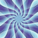 Abstract blue and violet pattern