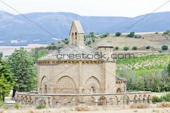 Church of Saint Mary of Eunate, Road to Santiago de Compostela, Navarre, Spain