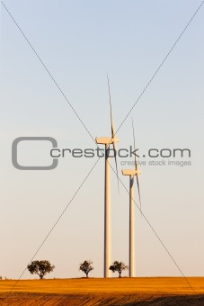 wind turbines, Castile and Leon, Spain