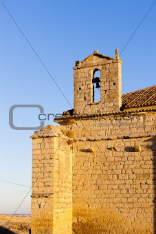 church in Ampudia, Castile and Leon, Spain