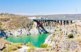 Villalcampo dam, Castile and Leon, Spain