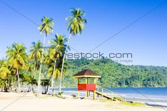 cabin on the beach; Maracas Bay; Trinidad