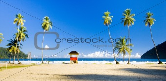 cabin on the beach; Maracas Bay; Trinidad