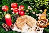 special Christmas mushroom pastry