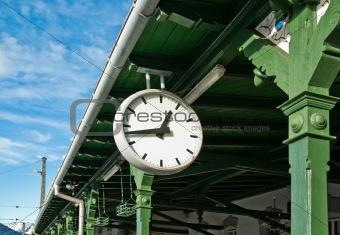 Antique Station Clock