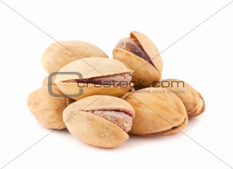 toasted pistachios