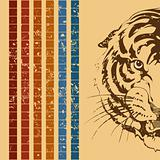 Retro a tiger