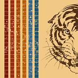Retro a tiger
