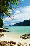 tropical island beach in thailand