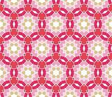 Seamless geometrical pattern with stars