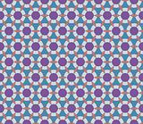 Seamless geometrical pattern with circles and diamonds