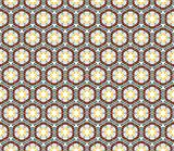 Pattern (seamless) with stars and circles