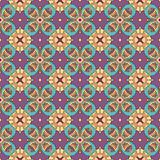 Seamless and elegant Baroque pattern with flowers