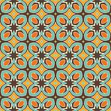 Seamless and elegant retro pattern with flowers