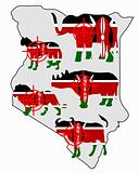Big Five Kenya cross lines
