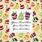 fresh fruit and ruler health card