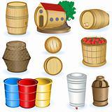 Barrel icons