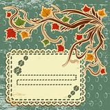 vector autumn leaves background