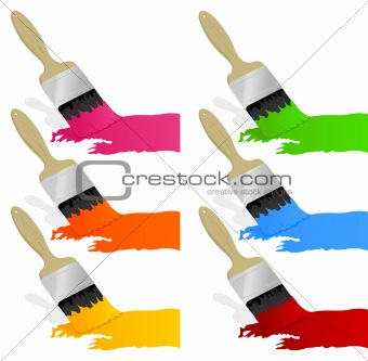 Paint and brush2
