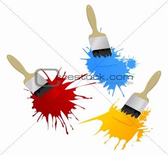 Paint and brush3