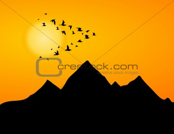 Jamb of cranes