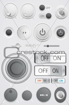 Interface buttons design