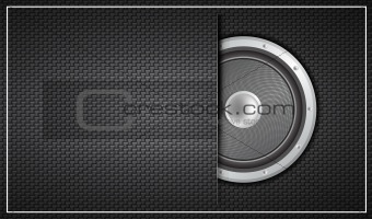 Abstract speaker design