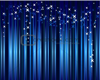 Abstract blue festive background