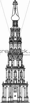 Tower monastery