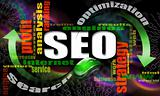 SEO engines strategy background