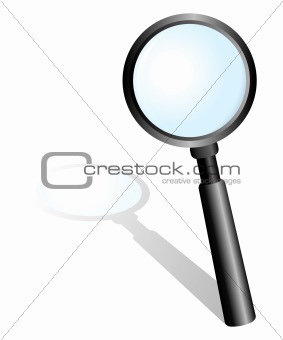 Black Magnifying Glass