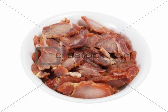 Bowl of Sweet Barbecue Pork