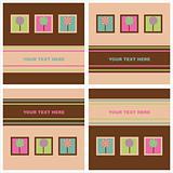 cute lollipops cards