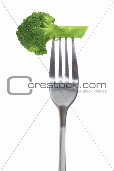 Fork with Broccoli
