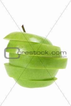 Slices of Granny Smith Apple