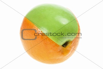 Slice of Apple and Orange