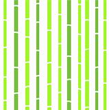 Bamboo seamless natural retro pattern or texture - green & white