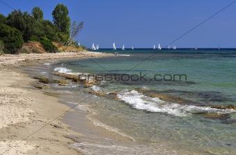 Beach from Halkidiki