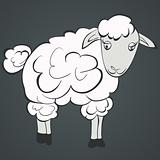 Illustration of sheep