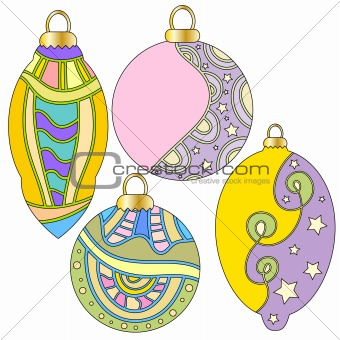 Christmas bauble collection