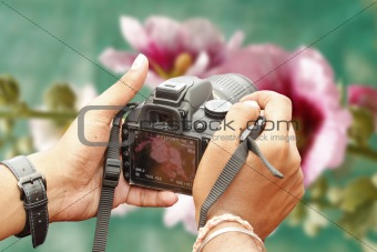 Shooting with a slr camera