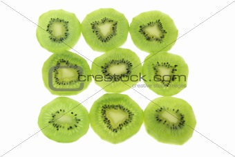Slices of Kiwifruit