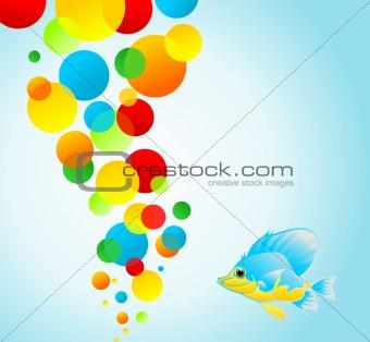 Small fish and balls