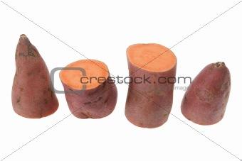 Slices of Sweet Potato