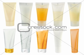 Cosmetics packs – tubes