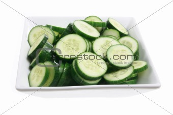 Bowl of Lebanese Cucumber