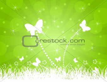 Background of butterflies2